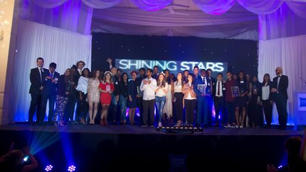 Winner of the Shining Stars 2017 student achievement awards. Picture: ELLIE HOSKINS/NEWHAM COLLEGE
