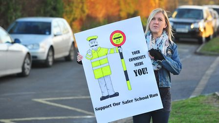 Clare Robson has organised a petition over the parking situation at Carlton Colville primary school.