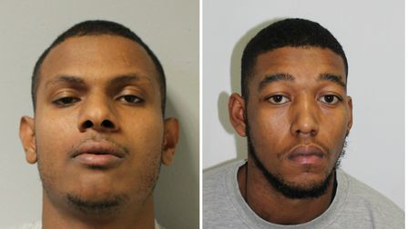 Abubakar Bana, right, and Jordon Archambie. Picture: MET POLICE