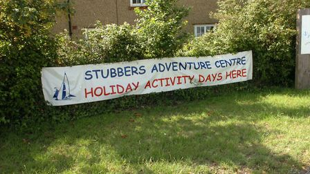 The accident happened at Stubbers Adventure Centre. Picture: John Hercock