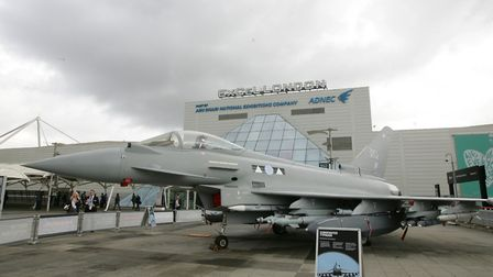 The DSEI arms fair at the ExCeL in 2015