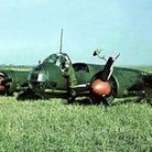 A German Junkers JU88, similar to the one which crashed in Hainault during the Blitz. Photo: Wikimed