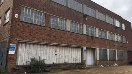 One of the warehouses in Bridge Close, Romford. Photo: Matt Clemenson