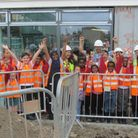 West Ham Church School have buried a time capsule Picture: West Ham Church School