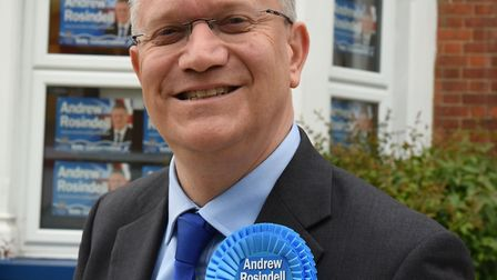 The Conservative Party candidates for Havering. Andrew Rosindell ( Romford )