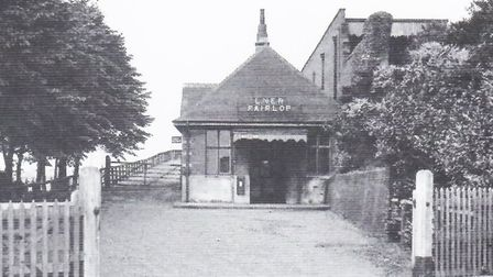 Fairlop Station in the 1930s. Photo: London Railways