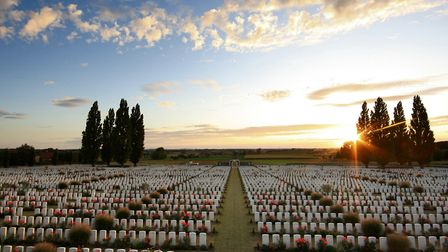 Tyne Cot Cemetery in Belgium. Picture: Adam Davy/PA
