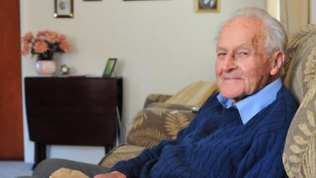 Ben Howlett was in a prison camp on the River Kwai during the second world war.