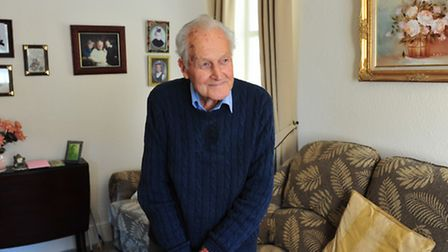 Ben Howlett has celebrated his 100th birthday. Pictures: Nick Butcher