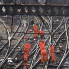 There are more delays between Romford and Liverpool Street due to a track default at Ilford. Picture