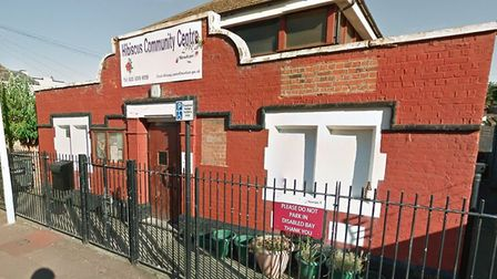 Two men were injured in an acid attack at the Habiscus Centre in Buckingham Road, Stratford. (PICTUR