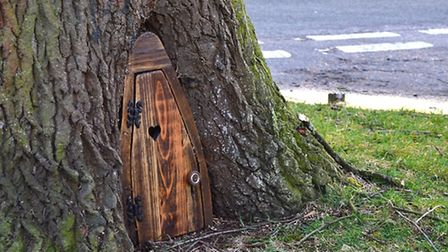 Fairy door appears on Chestnut Crescent