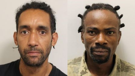 Ramzi Barkat, 45, of Third Avenue, Chadwell Heath, and Miguel Chaves, 40, of St Albans Road, Seven K