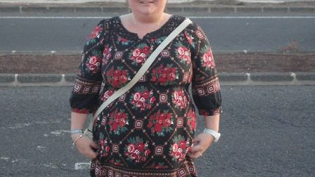 Nicola Buckley before her weightloss transformation. Picture: Holly Hale