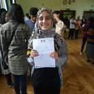 Suhaa Mahmood got three A*s (Maths, Further Maths and Physics) and is off to read Engineering at Tri