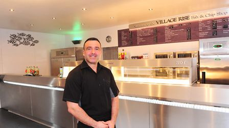 Joe Rosati has now re-opened his fish and Chip Shop on Weston Road. Picture: Nick Butcher