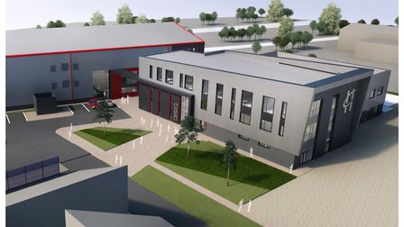 An artist's impression of what the finished Havering College Construction Infrastructure Skills and