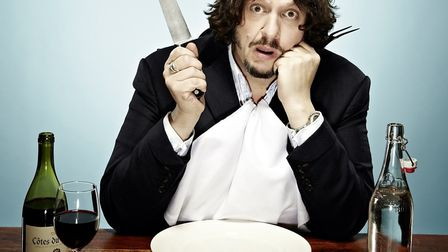 Jay Rayner is bringing his Ten (Food) Commandments to Queen's Theatre, Hornchurch. Picture: Picasa
