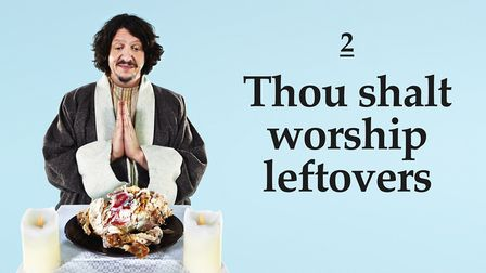 Jay Rayner is bringing his Ten (Food) Commandments to Queen's Theatre, Hornchurch. Picture: Levon Bl