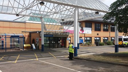 Goodmayes scenes for wrap. King George Hospital
