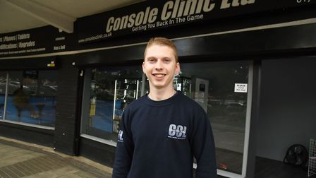 Kyle Weinberg owner of Console Clinic in Elm Park