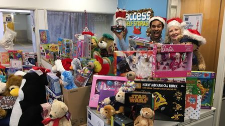 Past Christmas Charity Appeals by Access Self Storage have resulted in hundreds of gifts for local c