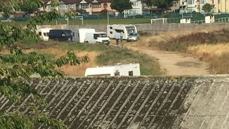 More travellers are entering the site