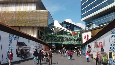 Police were called to reports of a stabbing at Westfield shopping centre, Stratford, this evening. P