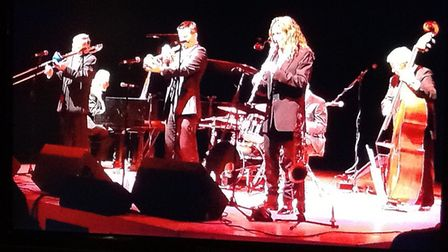 Kenny Ball junior and his Jazzmen in action
