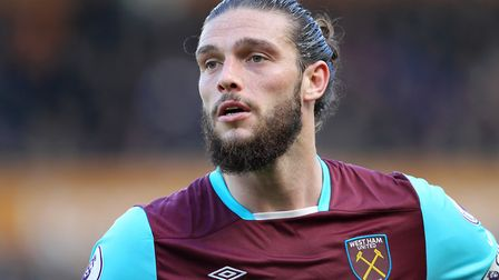 West Ham United's Andy Carroll. Picture: PA