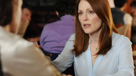 """Julianne Moore, as Alice, in a scene from the film, """"Still Alice."""" PICTURE: AP Photo/Sony Pictures C"""