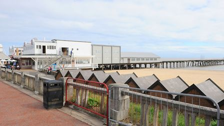View of Claremont Pier in Lowestoft.September 2013.Picture: James Bass