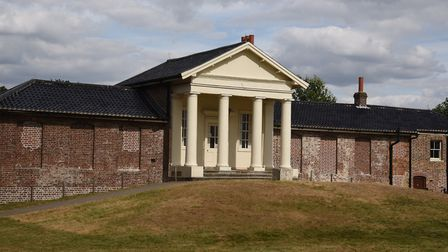 The Temple in Wanstead Park. Picture: Ken Mears