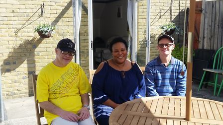 Evangeline loves caring and said it is really rewarding. Picture: Bettertogether