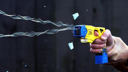Taser use in Barking and Dagenham was the second-highest in the capital Pic: PA Wire/Press Associati