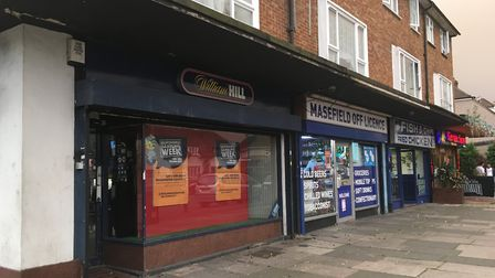 The Masefield Off Licence, in Masefield Crescent, Harold Hill, where the disturbance happened.