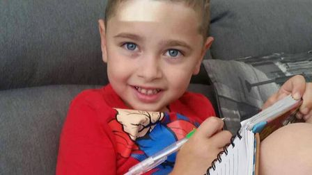 Sunni's family is looking to raise £60,000 for an operation which would help ease some of the effect