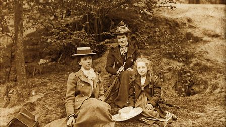 Photograph from the Hobbs family album 1896-1907. Picture: Richard Arnopp