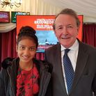 Hannah Chowdhry with Lord David Alton. Picture: Wilson Chowdhry