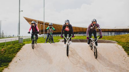 Cycling at Lee Valley VeloPark
