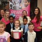 Aqua Hair Spa supported Newham Giving for a its fundraising day last Thursday by holding activities