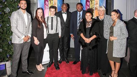Newham All Star Sports Academy (NASSA) chief executive Natasha Hart, second from right, says her cha