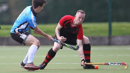 Action from Havering's match against Ipswich ES (pic George Phillipou/TGS Photo)