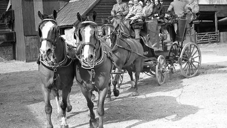 Stagecoach was the best way for the elite to travel before railways. Picture: Archant archive