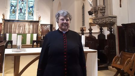 Rev Ann Clarke is the new priest of Christ Church, in Wanstead. Picture: April Roach