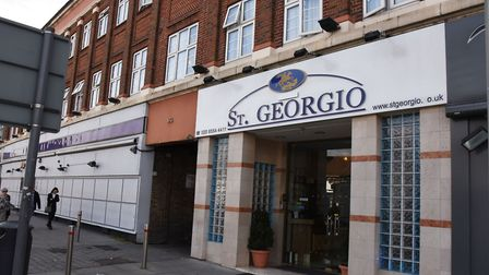 Faces and St Georgio hotel in Gants Hill. Picture: Ken Mears.