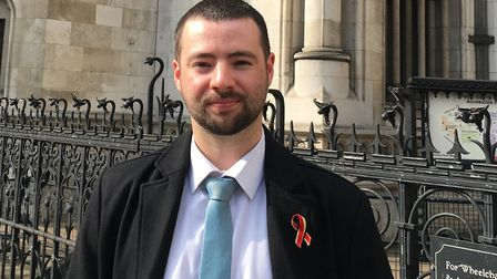 Jason Evans, whose father Jonathan died from Aids, is the lead claimant in the group action law suit