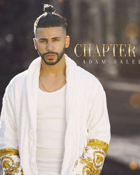 Adam Saleh, the YouTuber who was having a meet and greet when crowds surged causing a 'riot'. Pictur