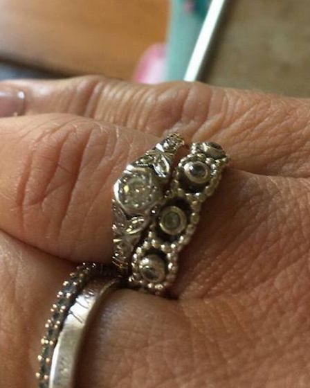 Burglars have stolen Jean's engagement ring, given by her late husband Walter, and the family are de