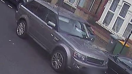 CCTV of the metallic grey 2011 Range Rover at 2.53pm in Wyatt Road near the junction with Upton Lane